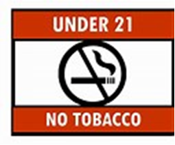Effective January 1, 2019, you must be 21 to purchase Tobacco and Nicotine Delivery Products in Hubbardston as per a vote of the