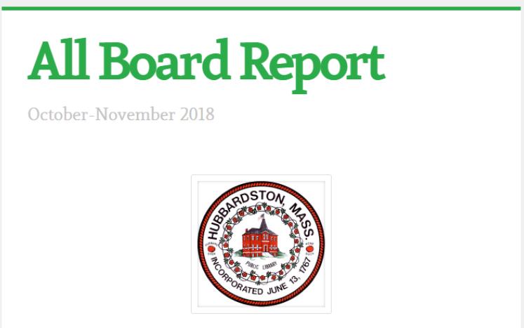 Board Report Cover