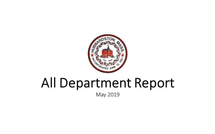 All Department Report Graphic