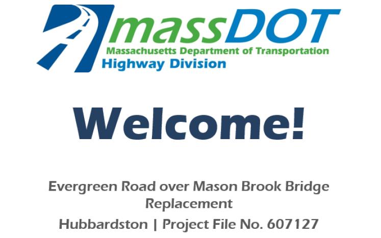MassDot Welcome Slide