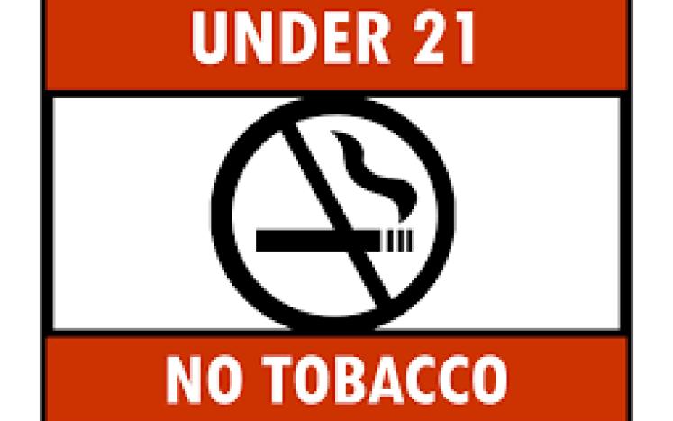 under 21 no smoking