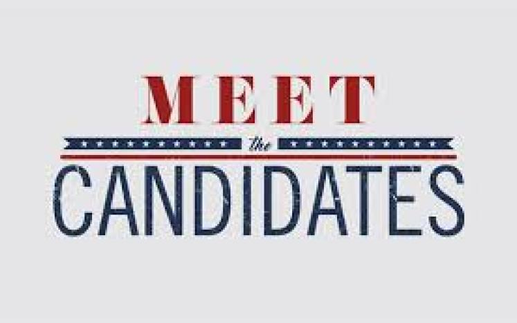 meet the candidates banner
