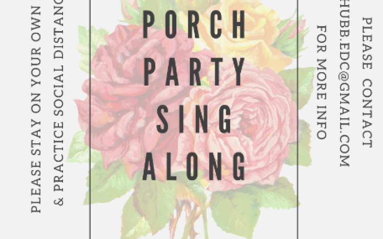 Porch Party Flyer