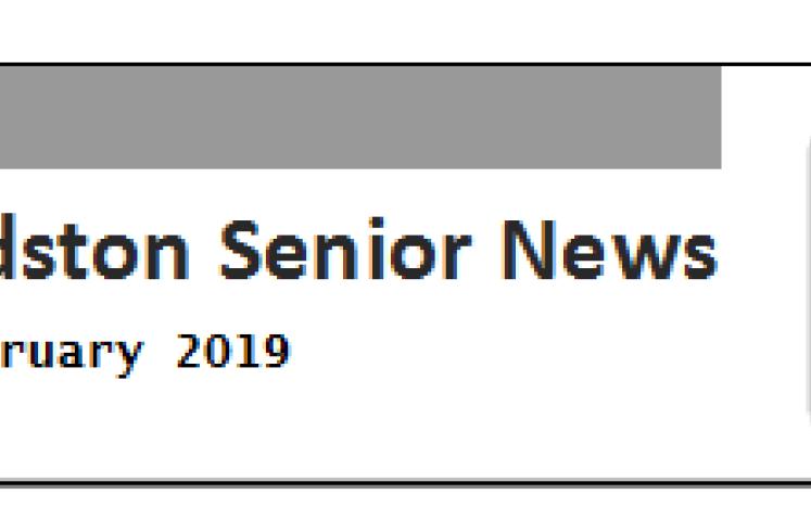 Senior News Header