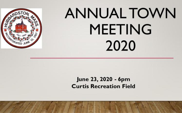 Town Meeting Graphic